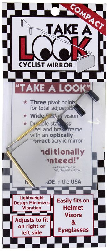 TAKEALOOK MIRROR TAKE A LOOK COMPACT F/EYEGLASSESAND VISORS ONLY