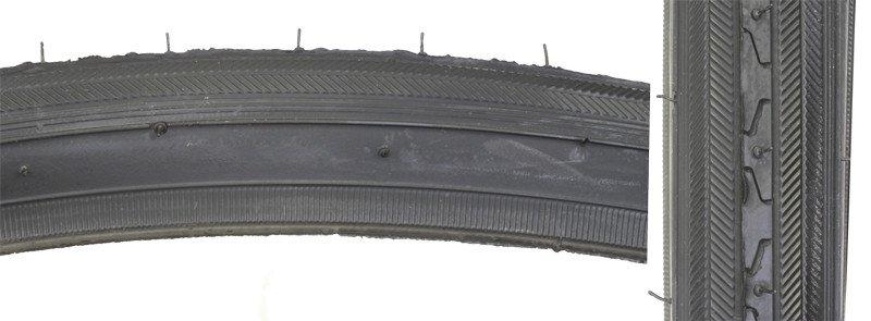 SUNLITE TIRES SUNLT 27x1-1/4 BK/BK RD 70lb K35 s WIRE