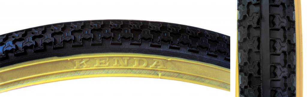 SUNLITE TIRES SUNLT 26x1.75 BK/GM RAISED CTR K5