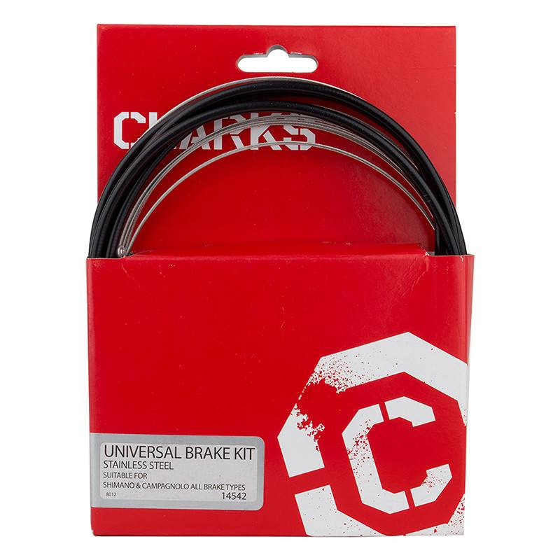 CLARKS CABLE BRAKE CLK KIT F+R SS SPT RD/MT BLK