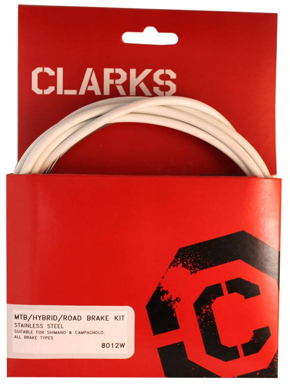 CLARKS CABLE BRAKE CLK KIT F+R SS SPT RD/MT PNK