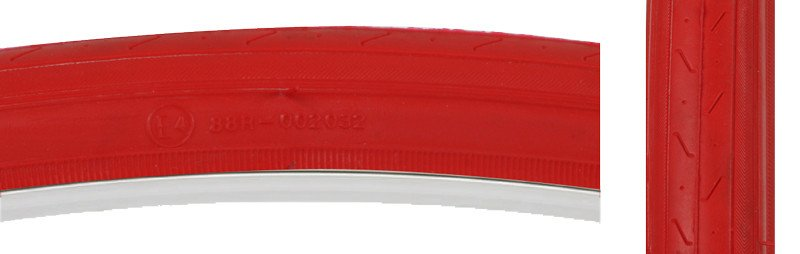 SUNLITE TIRES SUNLT 27x1-1/4 CST740 RD/RED S-HP