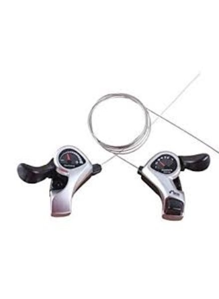 Shimano SHIFT LEVER SET,SL-TX50,SIS TOURNEY,3X6 SPEED,INDEX