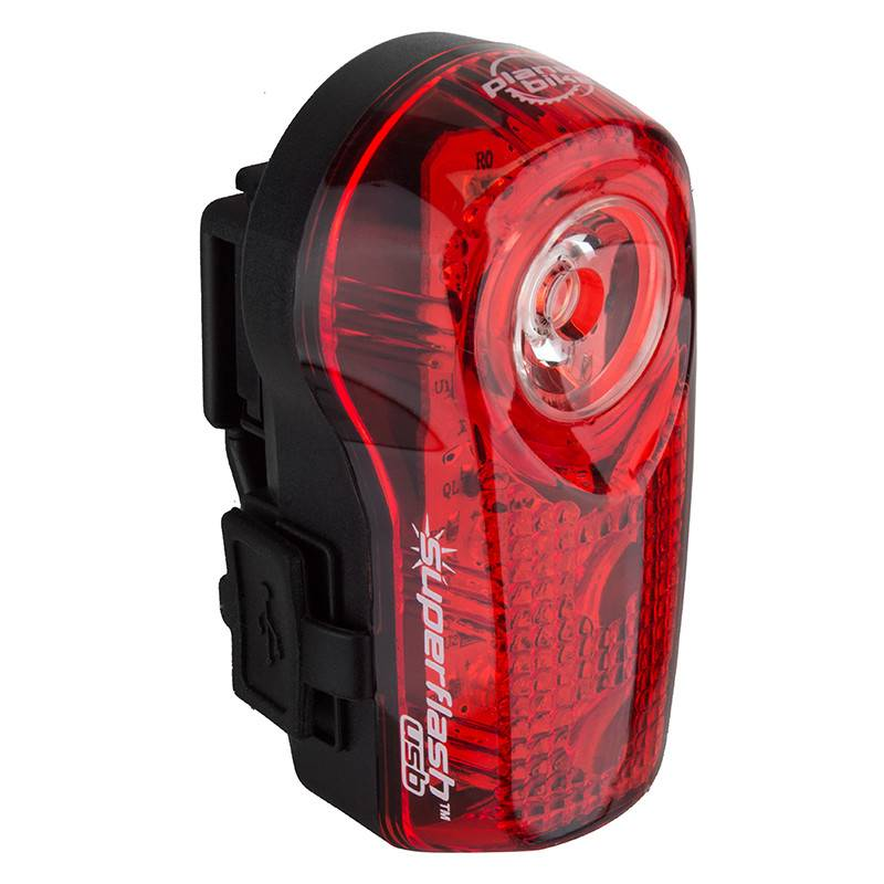 PLANET BIKE LIGHT PB RR SUPERFLASH USB BK