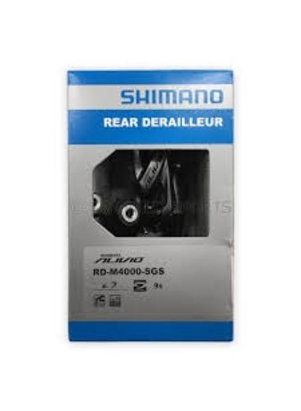 Shimano REAR DERAILLEUR, RD-M4000-SGS, ALIVIO, 9-SPEED,