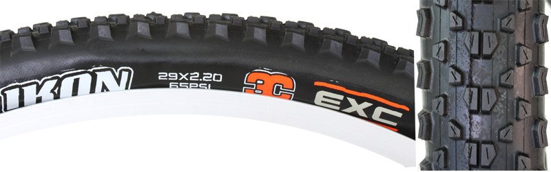 Maxxis TIRES MAX IKON 26x2.2 BK FOLD/120 3C