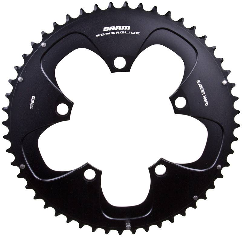 SRAM CHAINRING SRAM 52T 110mm BK
