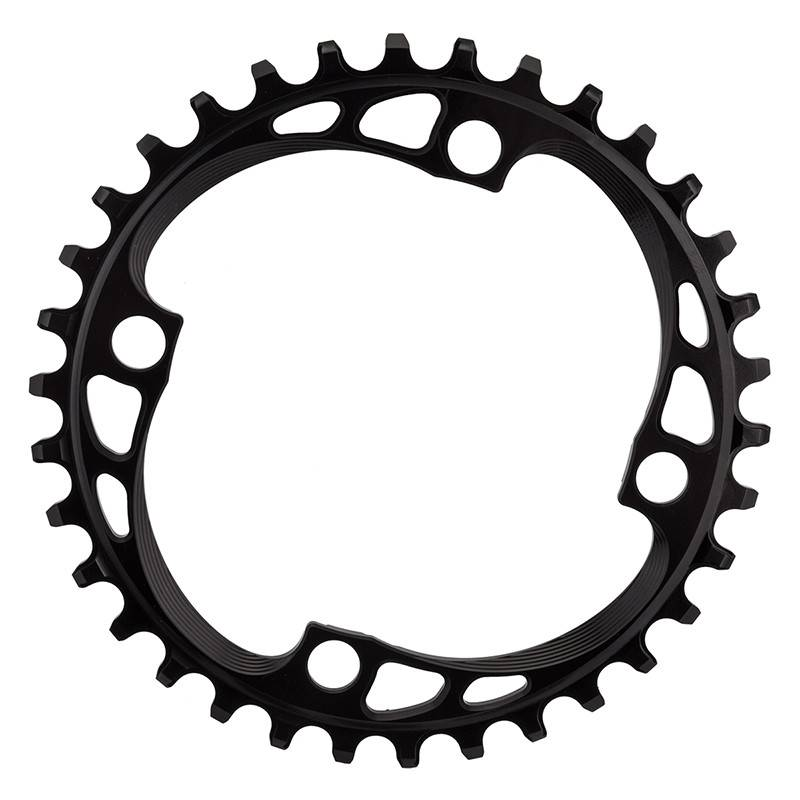 ABSOLUTE BLACK CHAINRING ABSOLUTEBLACK 104mm 34T 4B BK