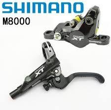 Shimano DISC-BRAKE SET, XT M8000 RIGHT/REAR, METAL W/FIN