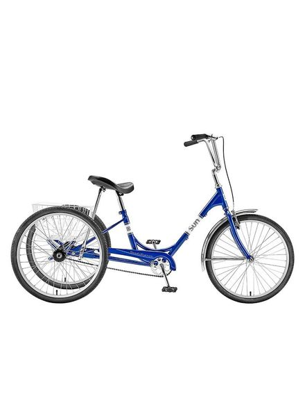 SUN BICYCLES TRIKE SUN ADULT P-BU 24 ALY WHL*w/WH BASKET* (F)