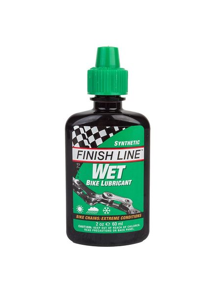 Finish Line LUBE F-L CROSS COUNTRY WET 2oz DRIP BOTTLE 12/cs
