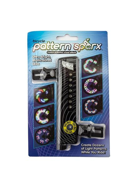 BZTR PATTERN SPARX LED LIGHT BK