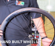 HAND BUILT WHEELS