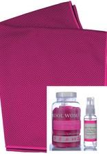 Ice Cooling serviette et spray