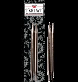 "ChiaoGoo Aiguilles interchangeable twist Chiaogoo acier inox 5"" 7505-75054"