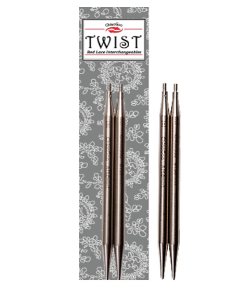 "ChiaoGoo Twist SS Lace tips 4"" mini"
