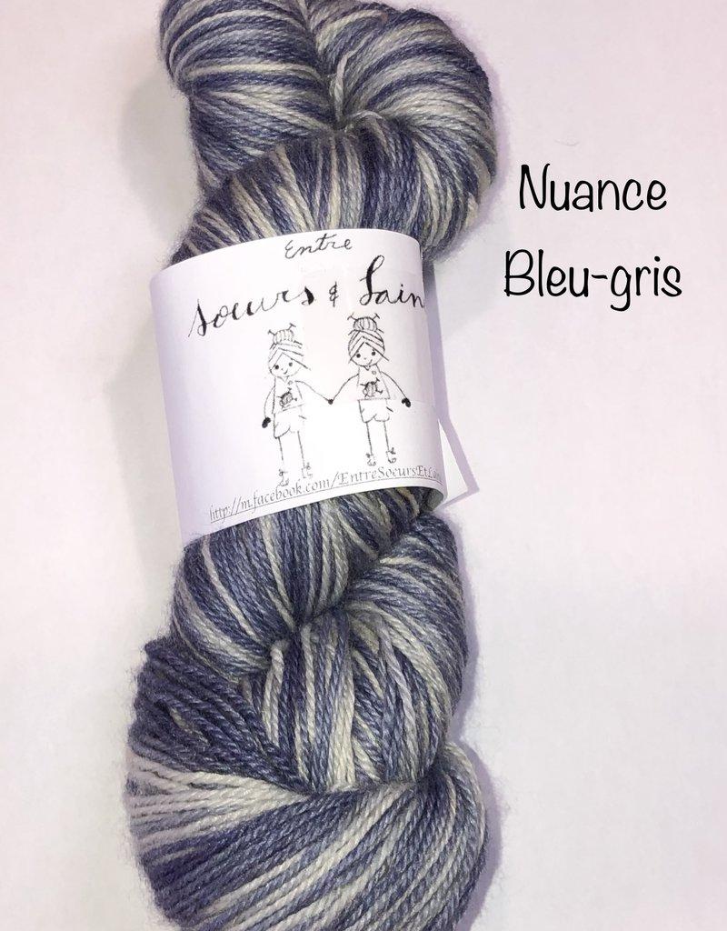 Entre Sœurs et laines Entre Sœurs et laines mérinos bambou