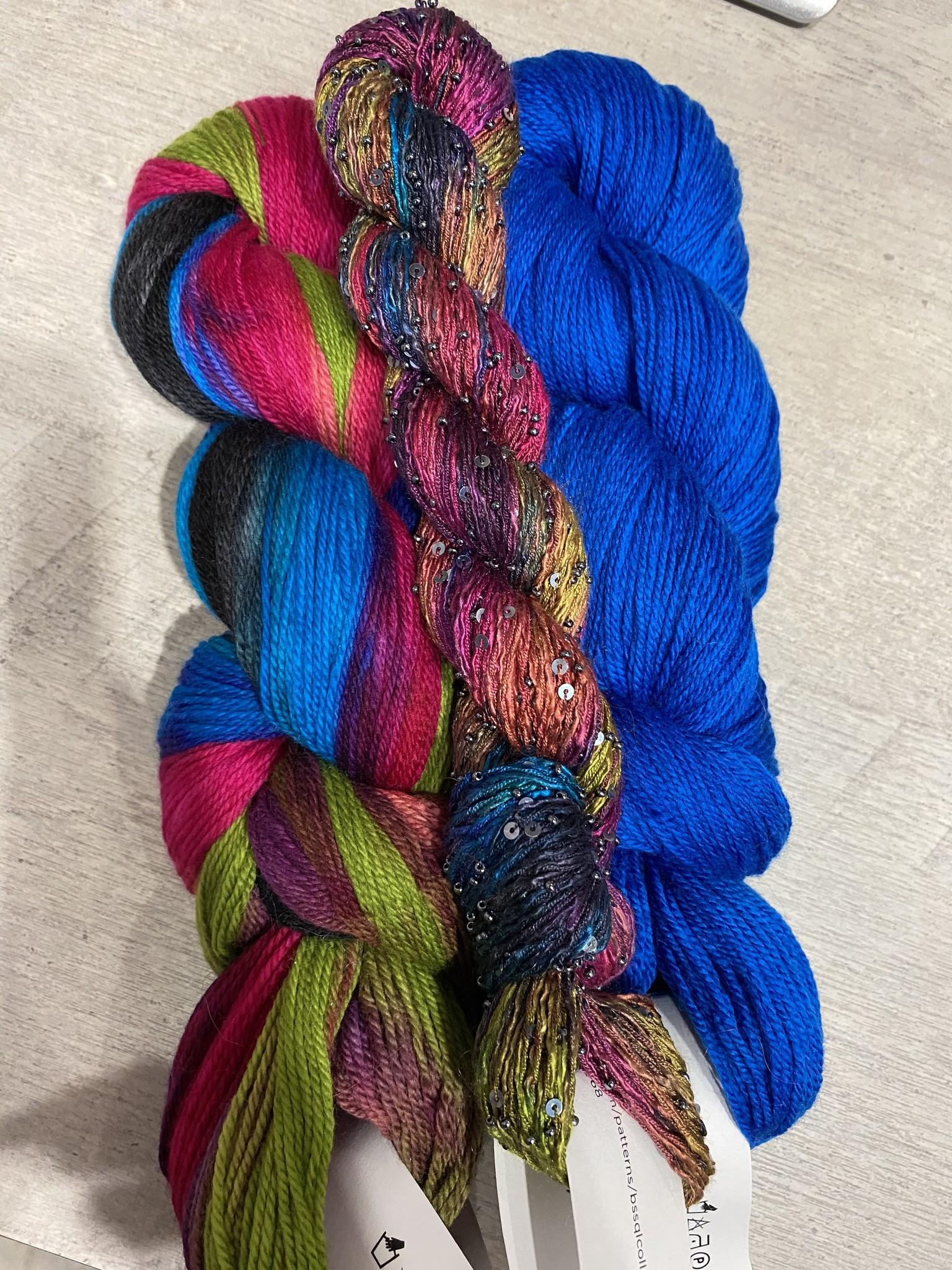 Color : 7cc2 avec soie perlée