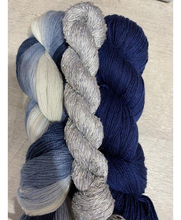 Color : Ombré bleu