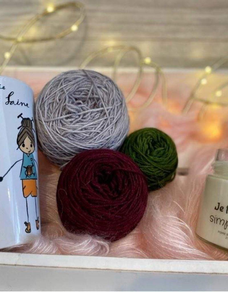 Entre Sœurs et laines Kit A: Moi De: Moi St-Valentin