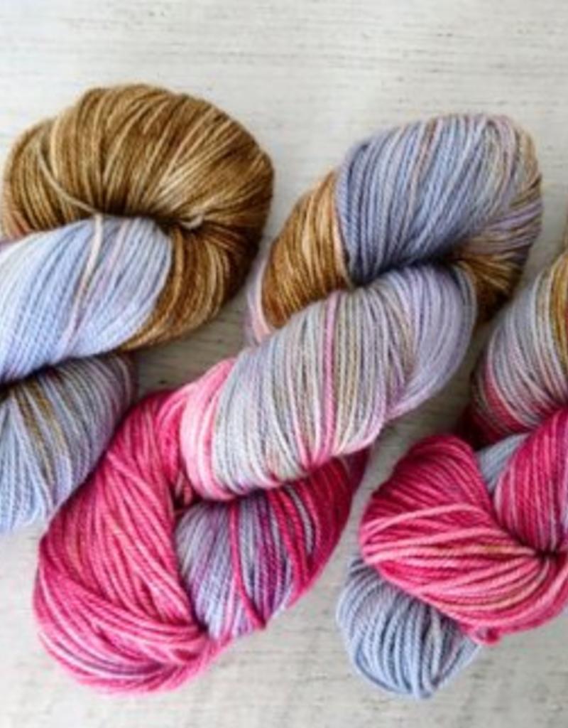 Cactus yarn studio Écheveaux teint à la main 4 oz