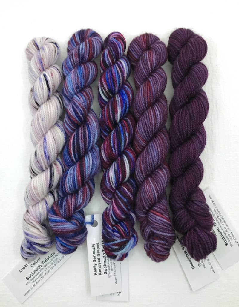 Ancient Arts Socknado Twister Mini Skeins