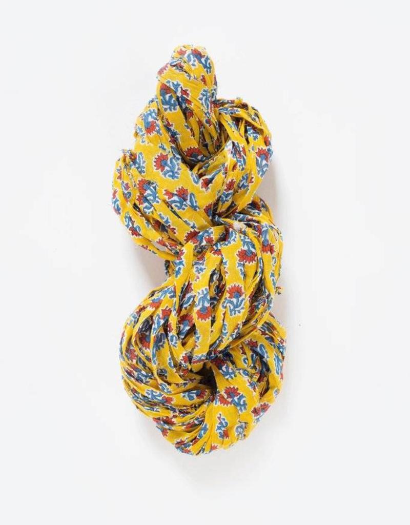 Knit Collage Wild Flower