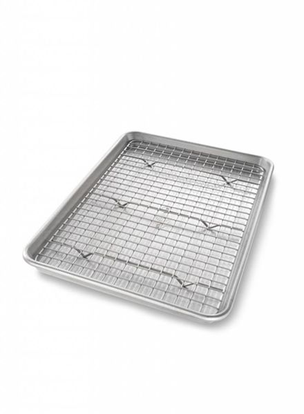 USA Pans Non-Stick Baking Pan with Rack