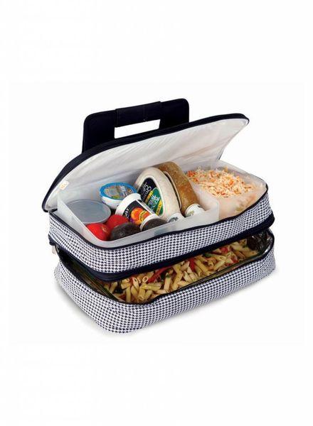 Oak & Olive Picnic Food Carriers