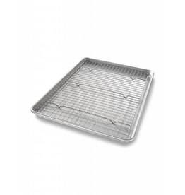 USA Pans Half Sheet Baking Pan with Rack