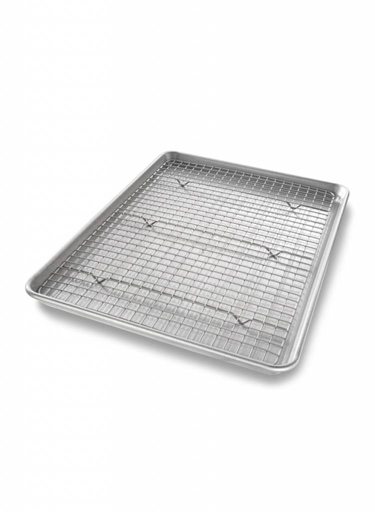 Baking Pan And Rack Bake Evenly For All Your Baked Goods