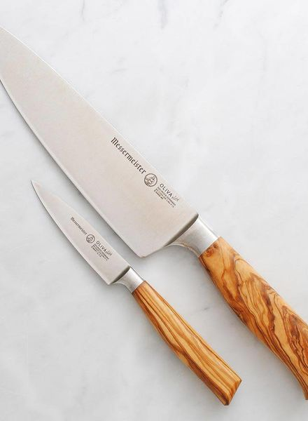 Messermeister Oliva Elite Chef's Knife and Parer Set