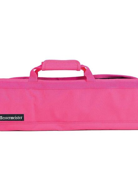 Messermeister 12 Pocket Knife Roll - Pink