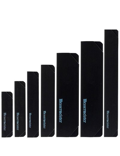Messermeister Edge Guard Set Blk- 7 pc IA