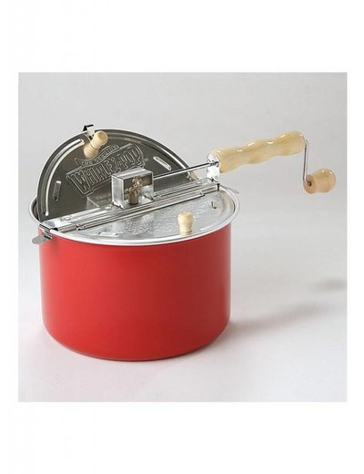 Wabash Valley Farms Whirley Pop Barn Red Popcorn Popper