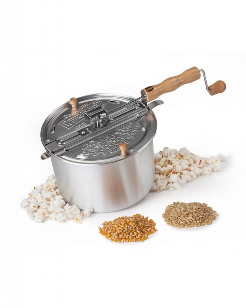 Wabash Valley Farms Whirley Pop Stainless Steel Popcorn Popper