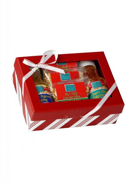 Wabash Valley Farms Classic Complete Striped Gift Set with Bow