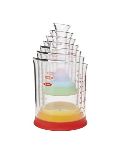 OXO Liquid Measuring Beaker Set 7 pk