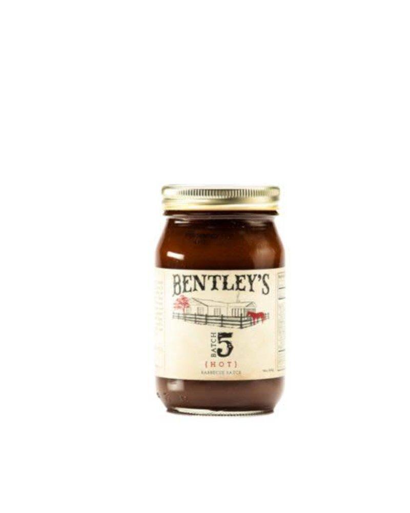 Bentley's Batch 5 Barbecue Sauce