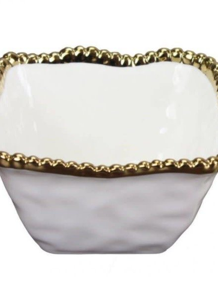 Pampa Bay Porcelain Square Snack Bowl
