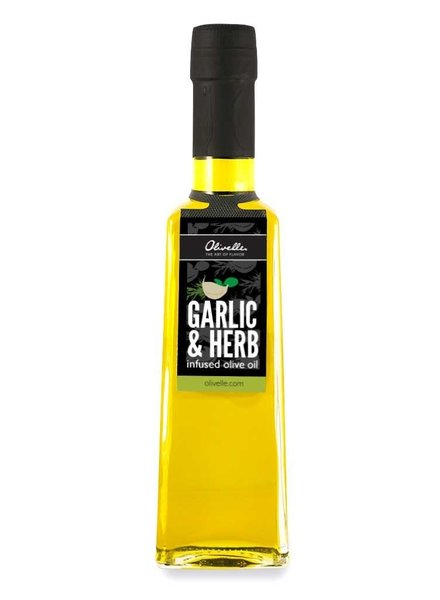 Olivelle Garlic & Herb Oil - Garlic, Basil, Rosemary