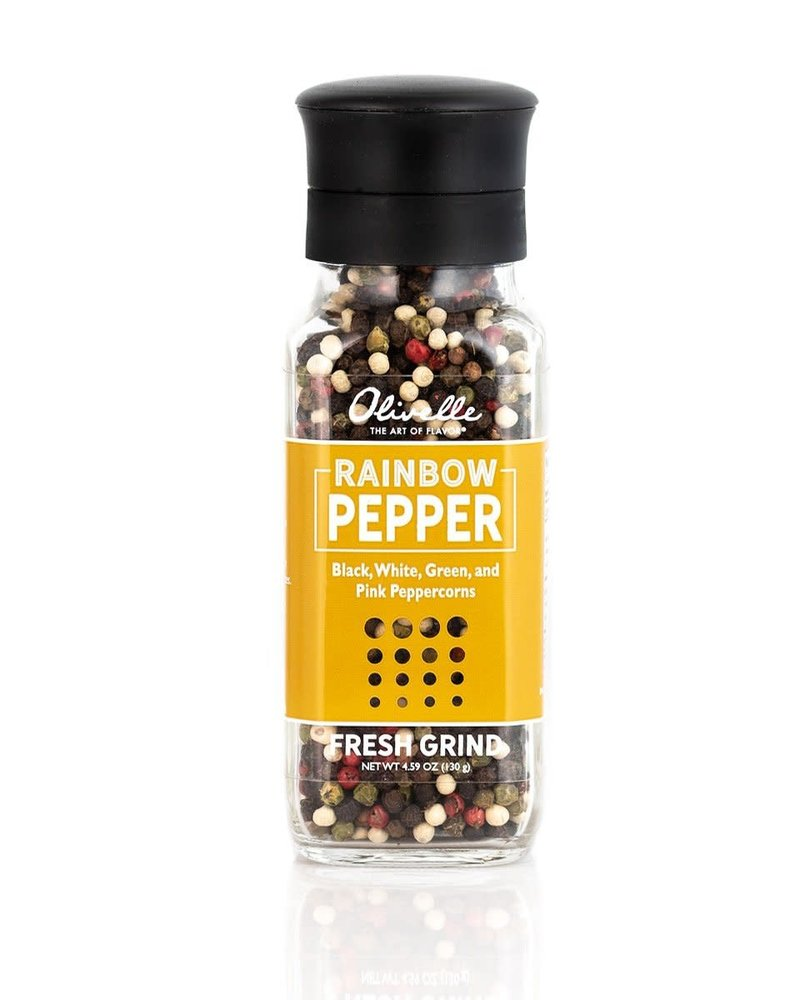 Olivelle S&P Grinders Rainbow Peppercorn Mix