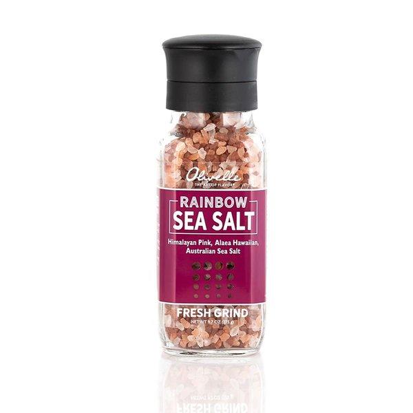 Olivelle S&P Grinders Rainbow Sea Salt Mix