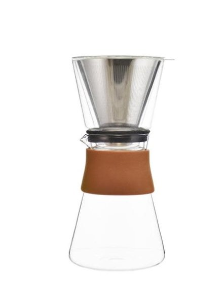 GROSCHE Coffee Dripper Amsterdam w/ Double Walled Glass Top