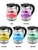 Kalorik Glass Digital Water Kettle w/ Color Changing LED Lights