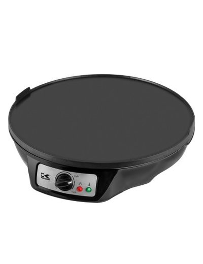 Kalorik Black 3 in 1 Griddle, Crepe, and Pancake Maker