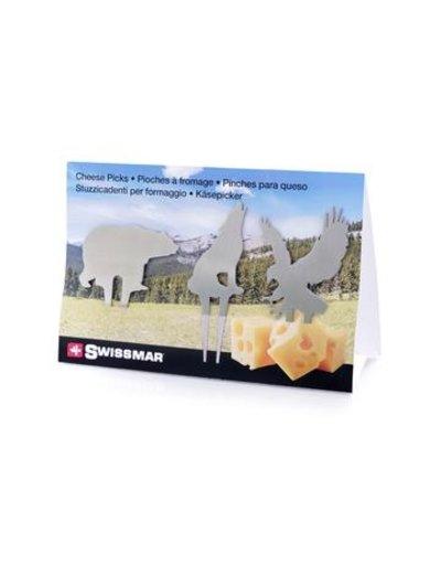 Swissmar Imports 3pc Wilderness Cheese Pick Set IA
