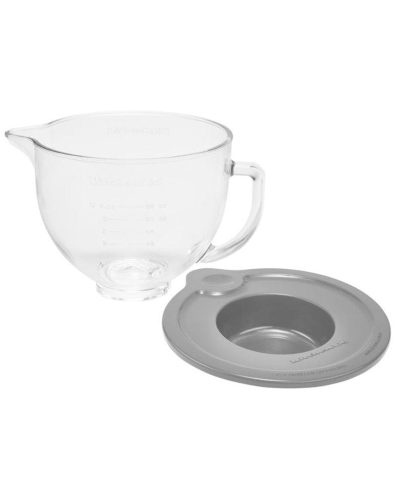 KitchenAid Stand Mixer Glass Bowl 5 Qt