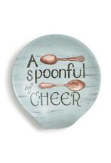 Demdaco Round Spoon Rest Spoonful of Cheer