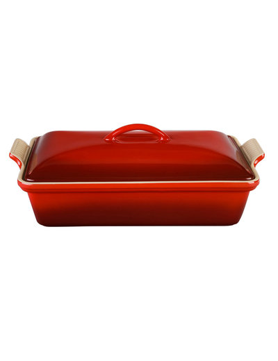 Heritage Covered Rectangular Casserole 4 qt